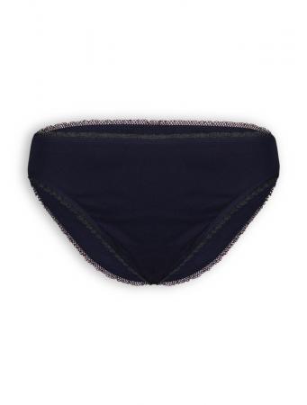Classic-Slip mit Spitze von Living Crafts in black