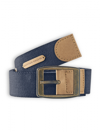 Gürtel Edinburgh von Living Crafts in navy