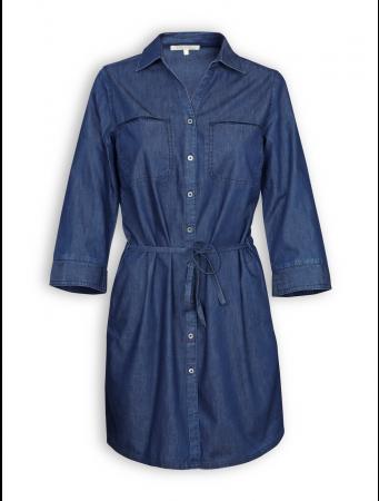 Hemdkleid von recolution in dark denim blue
