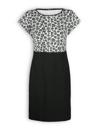 Kleid Alyna von Lana in schwarz