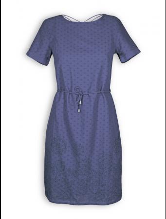 Kleid von Madness in cobalt blue