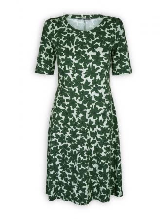 Kleid Larena von Lana in Larena dark green