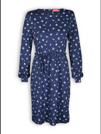 Kleid Mirana von Lana in maritim blue
