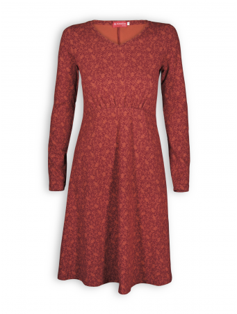 Kleid Miranda von Lana in Miranda rose wood