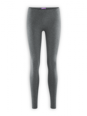 Leggings Annedore von Living Crafts in graphite melange