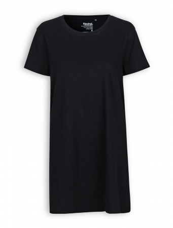 Long T-Shirt von Neutral in black