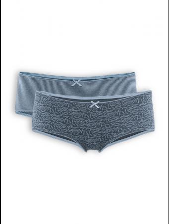 Panty Bridget (2-er Pack) von Living Crafts in night blue