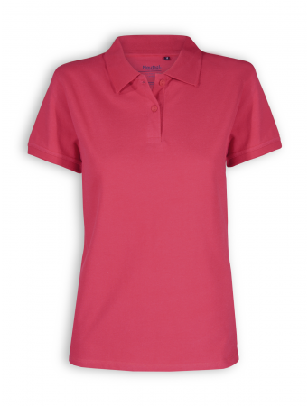 Polo Shirt von Neutral in red