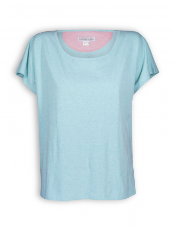 Shirt oversized von Madness in pastel turqouise