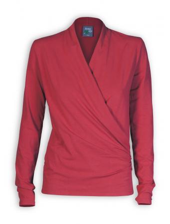 Shirt Scarlett von HempAge in rosehip
