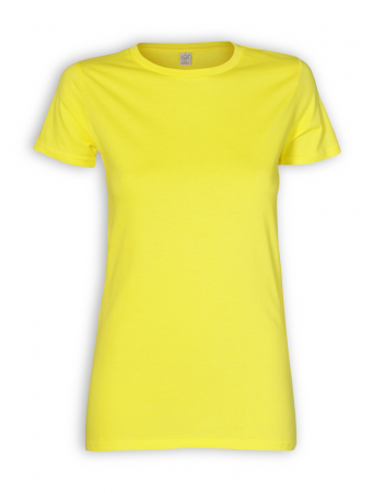Slim Fit T-Shirt von EarthPositive in yellow