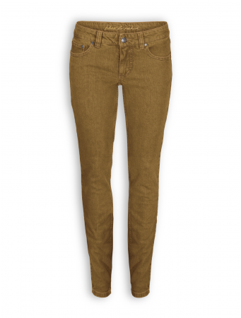 Slim Jeans von Bleed in ocre brown