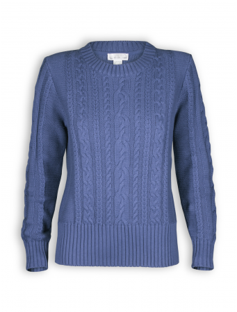 Strickpullover von Madness in midblue