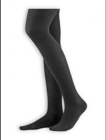 Blickdichte Strumpfhose Dasha von Living Crafts in black