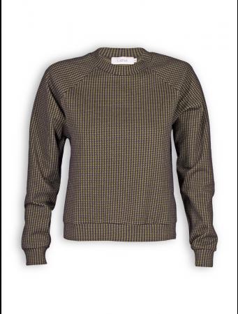 Sweater Alizee von Lana in Finette desert palm / schwarz