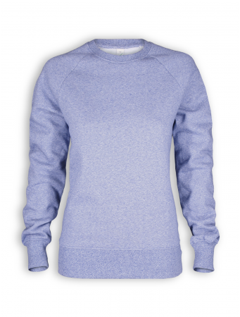 Sweatshirt von EarthPositive in blue twist