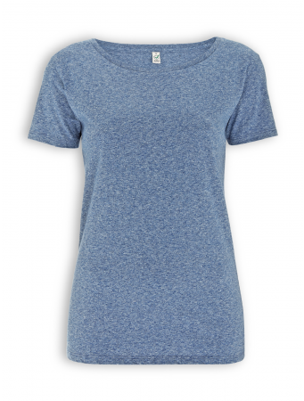 Special Yarn Effect Shirt von EarthPositive in blue twist