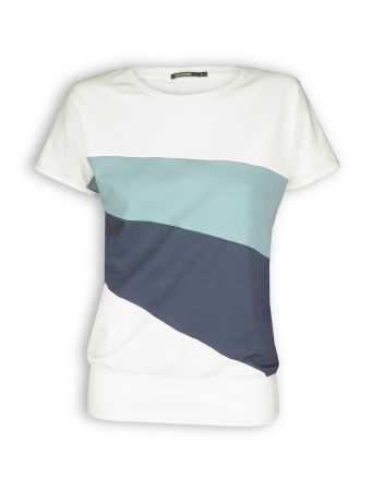 T-Shirt von GreenBomb in grey mix