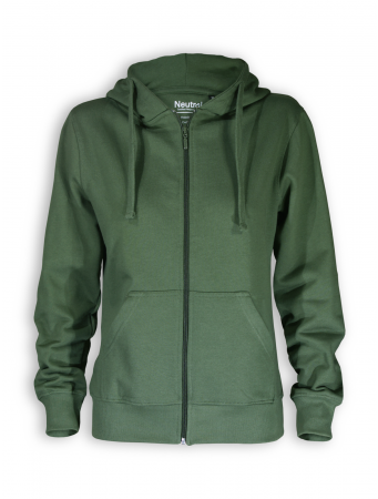 Zip Hoodie von Neutral in olive