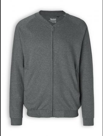 Zip Jacket von Neutral in dark heather
