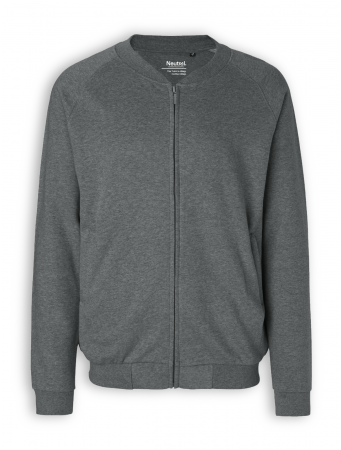 Zip Jacket von Neutral in dark heather