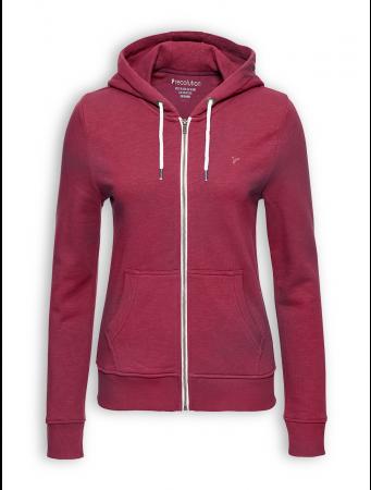 Zipper Basic von recolution in dark red