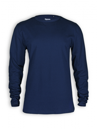 Basic Longsleeve von Neutral in navy
