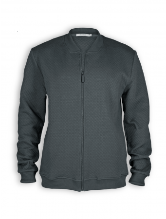 Blouson Zipper von GreenBomb in dark grey