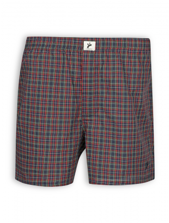 Boxershort von recolution in coloured checked