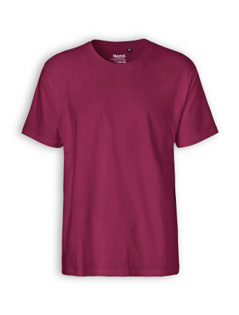 Classic T-Shirt von Neutral in bordeaux