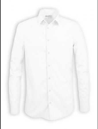 Hemd mit Kentkragen von Melawear in weiß