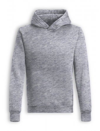 Hoodie Star von GreenBomb in heather grey