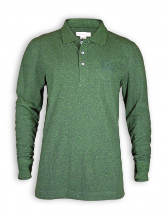 Langarm Polo Shirt von Madness in black/green