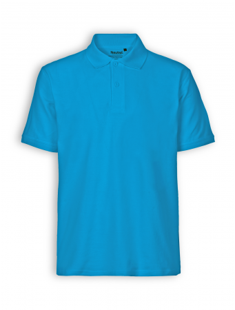 Polo Shirt von Neutral in sapphire
