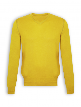 Pullover Absolute von GreenBomb in golden yellow