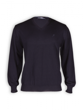 Pullover Oslo Night von brainshirt in schwarz