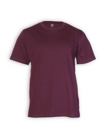 Classic T-Shirt von EarthPositive in burgundy