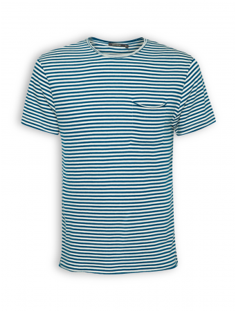 T-Shirt von GreenBomb in sailor blue stripes