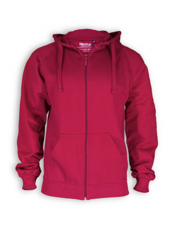 Zip Hoodie von Neutral in red