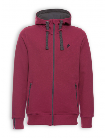 Zipper Classic von recolution in dark red