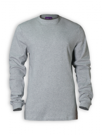 Longsleeve von Living Crafts in grey melange