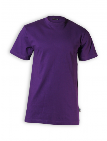 Organic T-Shirt von Fairtrademerch in purple