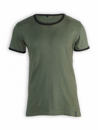T-Shirt von more ethics in olive