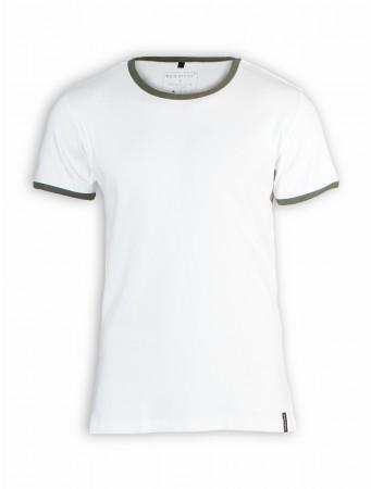T-Shirt von more ethics in weiß