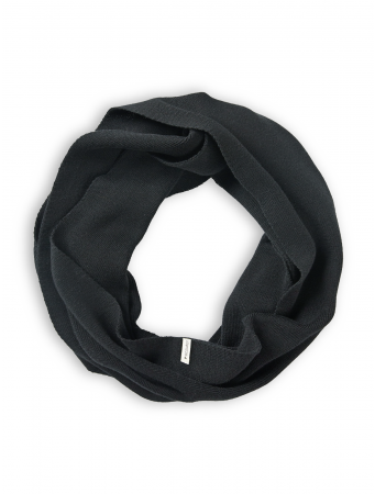 Loopstrickschal von recolution in black