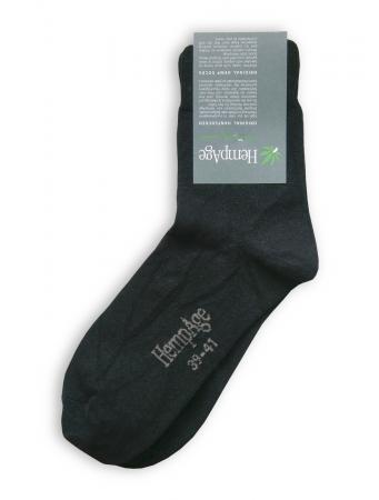 New Socks von HempAge in schwarz