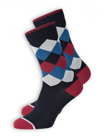 Socken Square von recolution in navy