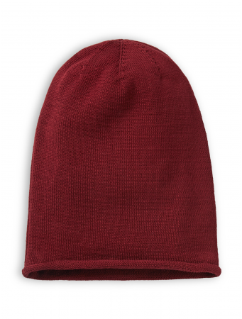 Strickmütze von recolution in burgundy
