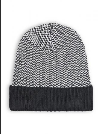 Strickmütze von recolution in grey/black