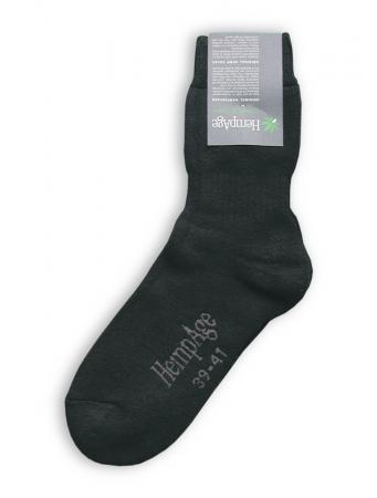 Terry Socks von HempAge in schwarz